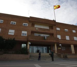 La caserna de la Guàrdia Civil a Lleida