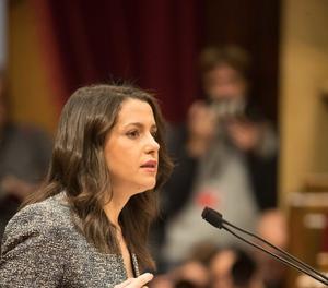 Inés Arrimadas acusa Torra de defensar la xenofòbia i l'exclusió