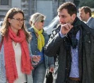 Comença la compareixença de Comín, Serret i Puig davant del jutge belga
