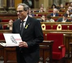 Torra incorpora Rull, Turull, Puig i Comín en el nou Govern