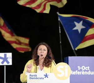La presidenta de la Diputació de Barcelona, Mercè Conesa.