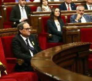 Quim Torra exigeix a Alfonso Guerra que retiri l'insult de