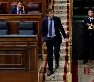 El portaveu del PP al Congrés, Rafael Hernando.