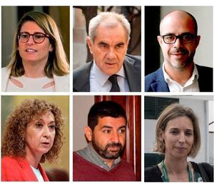 Els consellers del nou Govern de Quim Torra