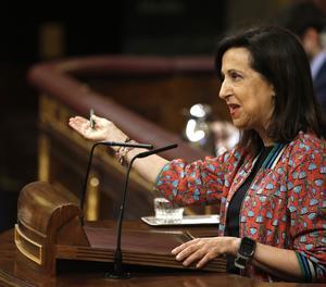 La portaveu del PSOE al Congrés, Margarita Robles