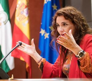 La consellera andalusa María Jesús Montero, ministra d'Hisenda