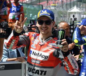 El pilot de Ducati Jorge Lorenzo.