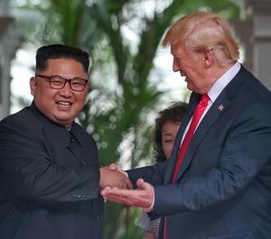 Trump diu que la seva cimera amb Kim va