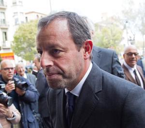 L'expresident del FC Barceona Sandro Rosell.