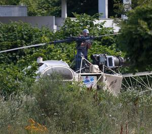 L'helicòpter el van trobar poc després incendiat.