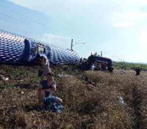 Augmenta a 24 la xifra de morts en accident de tren en nord-oest de Turquia