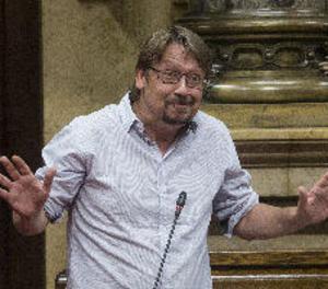 """Domènech espera que reunió Sánchez-Torra sigui el """"final d'una etapa política"""""""