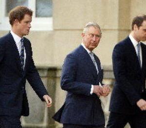 El príncep Carles i el príncep Guillem no van voler reunir-se amb Trump