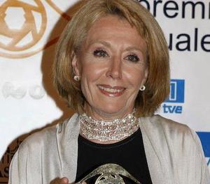La veterana Rosa María Mateo va ser un referent a TVE i Antena 3.