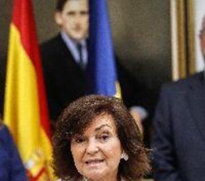 """Carmen Calvo: """"La Constitució haurà d'adequar-se a noves realitats"""""""