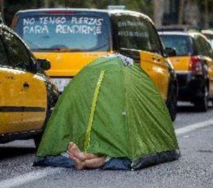 Els taxistes de Barcelona estudien donar una