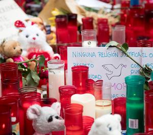Un homenatge a les víctimes dels atemptats del 17A.