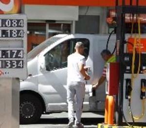 Els preus dels carburants despunten en la primera setmana d'agost