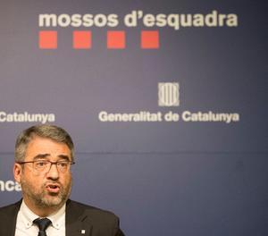 El director dels Mossos d'Esquadra, Andreu Joan Martínez.