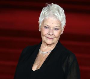La gran dama del cine britànic Judi Dench.
