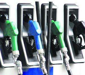Assortidors en una gasolinera.
