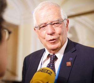 El ministre d'AEl ministre d'Afers Exteriors, Josep Borrellers Exteriors, Josep Borrell
