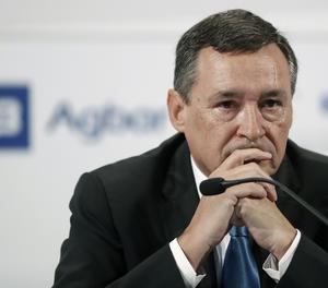 El president executiu d'Agbar, Ángel Simón.