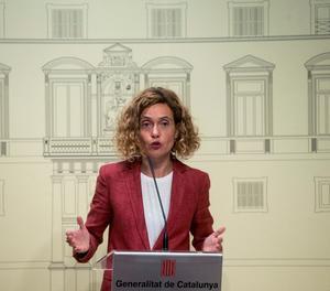 La ministra de Política Territorial, Meritxell Batet.