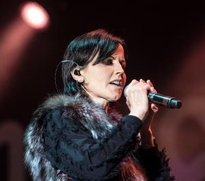 La cantant de The Cranberries, Dolores O'Riordan.