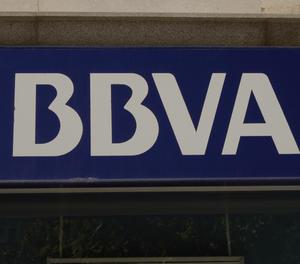 El logotip del BBVA.