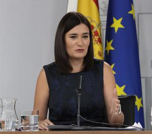 La ministra de Sanitat, Carmen Montón.