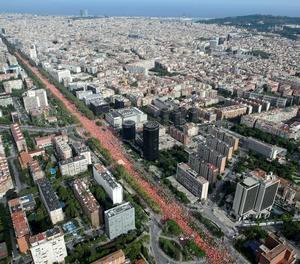 Societat Civil Catalana xifra en 200.000 els manifestants independentistes