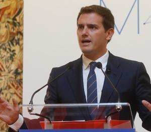 El president de Ciutadans, Albert Rivera