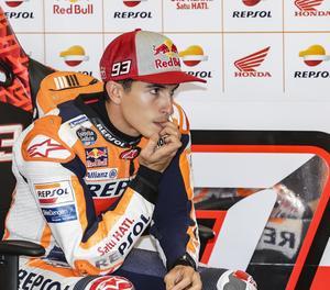 El pilot lleidatà de Moto GP Marc Márquez