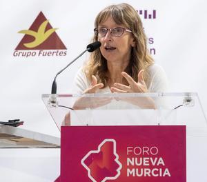 La investigadora cerebral Maite Mendioroz.