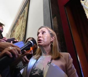 La presidenta del Congrés dels Diputats, Ana Pastor.