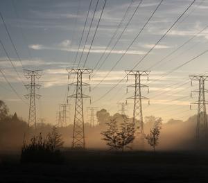 Torres elèctriques.