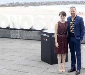 Claire Foy i Ryan Gosling, estrelles ahir al festival donostiarra.