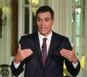 El president del Govern, Pedro Sánchez.