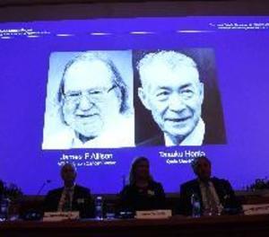 El nord-americà Allison i el japonès Honjo comparteixen el Nobel per teràpies contra el càncer