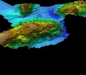 Descobreixen una cadena de muntanyes submarina al sud d'Austràlia