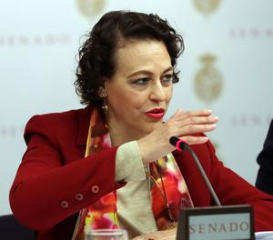 La ministra de Treball, Migracions i Seguretat Social, Magdalena Valerio.