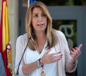 La presidenta de la Junta d'Andalusia, Susana Díaz.