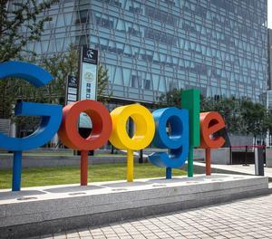 El logotip de Google.