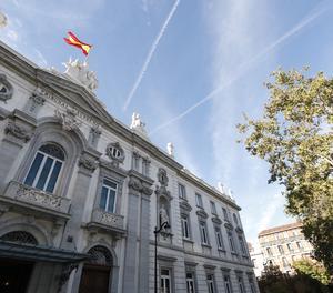 La façana del Tribunal Suprem.