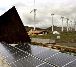 Panells solars.