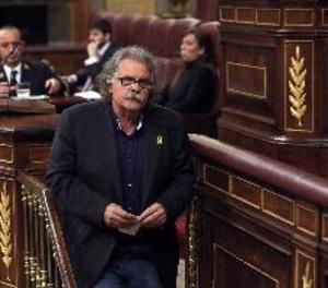 Tardà diu feixista a Rivera a la tribuna del Congrés