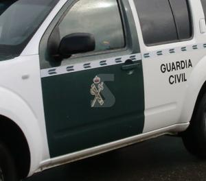 Un vehicle de la Guàrdia Civil