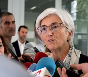 La fiscal general de l'Estat, María José Segarra.