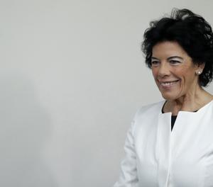 La ministra portaveu del Govern, Isabel Celaá.